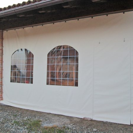 Teloni scorrevoli in PVC_Hased Casa Famiglia Onlus, Riva di Chieri TO - Venturello