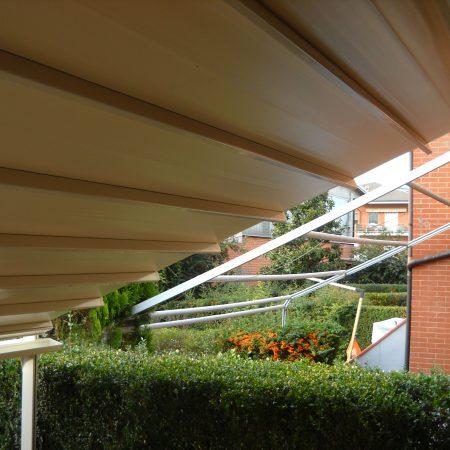 Tenda a pacchetto Portofino per abitazione privata - Dehors e pergole - Venturello