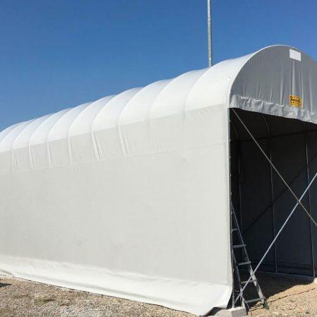 Tunnel copertura Camper - Teloni e teli in PVC - Venturello