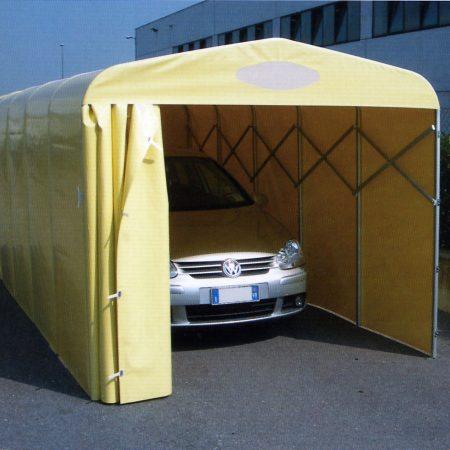 Tunnel copertura auto - Venturello