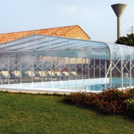Tunnel copertura piscina - Venturello