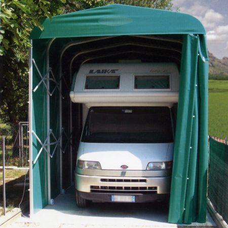 Tunnel ricovero Camper - Venturello