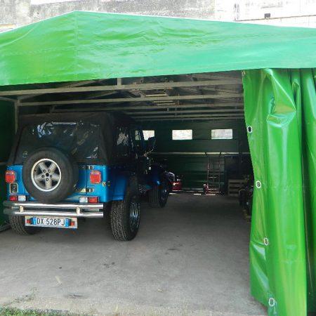 Tunnel ricovero mezzi - Venturello