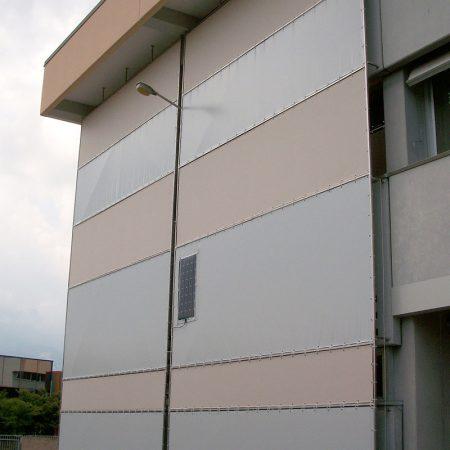 Università di Biella - Teloni ombreggianti in Soltis - Venturello