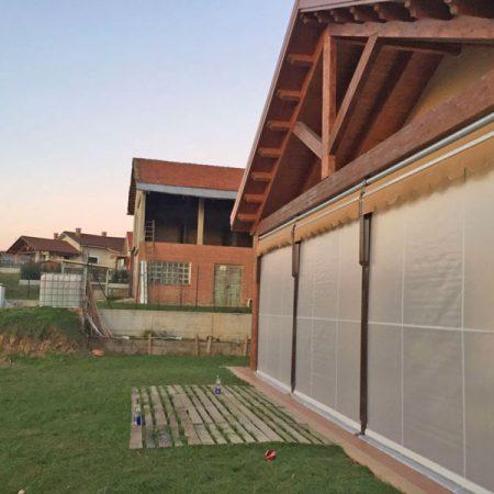 Veranda a due rulli estiva-invernale ermetica - Venturello