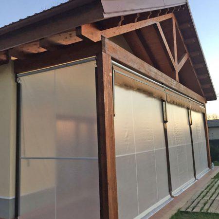 Veranda a due rulli estiva-invernale ermetica - Chiusure per esterno - Venturello