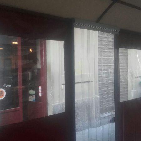 Dehor teloni e chiusure a strisce - Porte in strisce PVC - Venturello