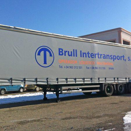 Telone centinato alla francese - Teloni per camion - Venturello