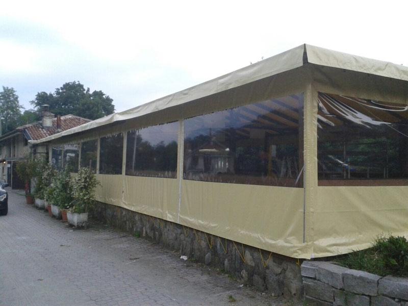 Chiusura esterna per Discoteca Banus Torino
