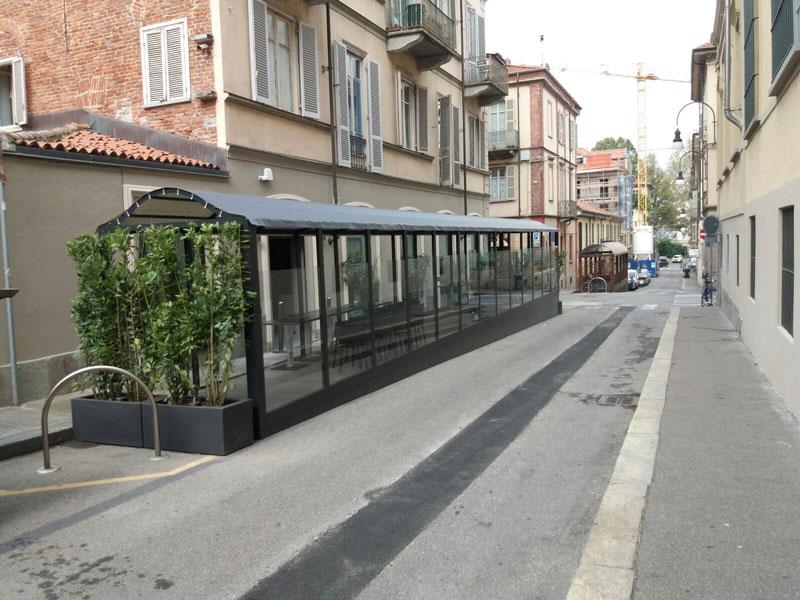 Copertura Cannavacciuolo Bistrot Torino