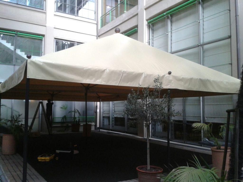 Copertura Tensostruttura per NH Hotel Lingotto Torino