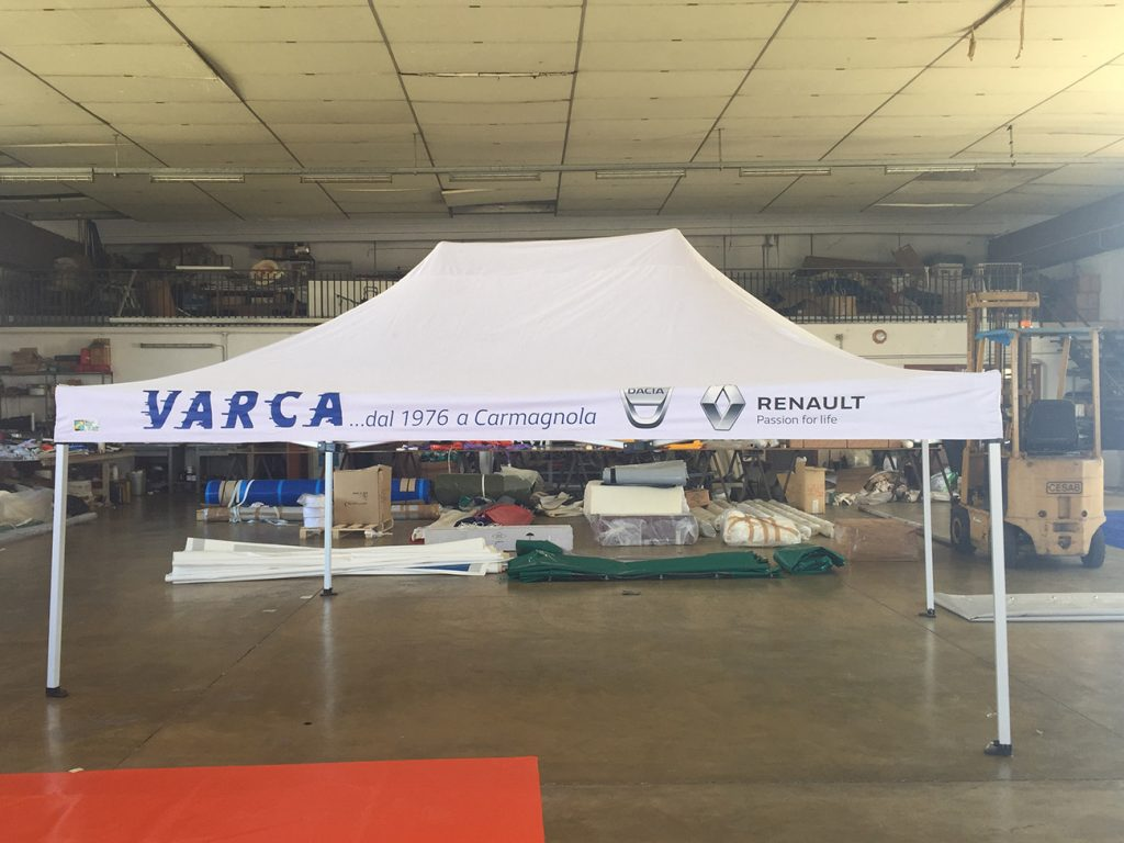 Gazebo per Gruppo Varca Renault Dacia Carmagnola (TO)