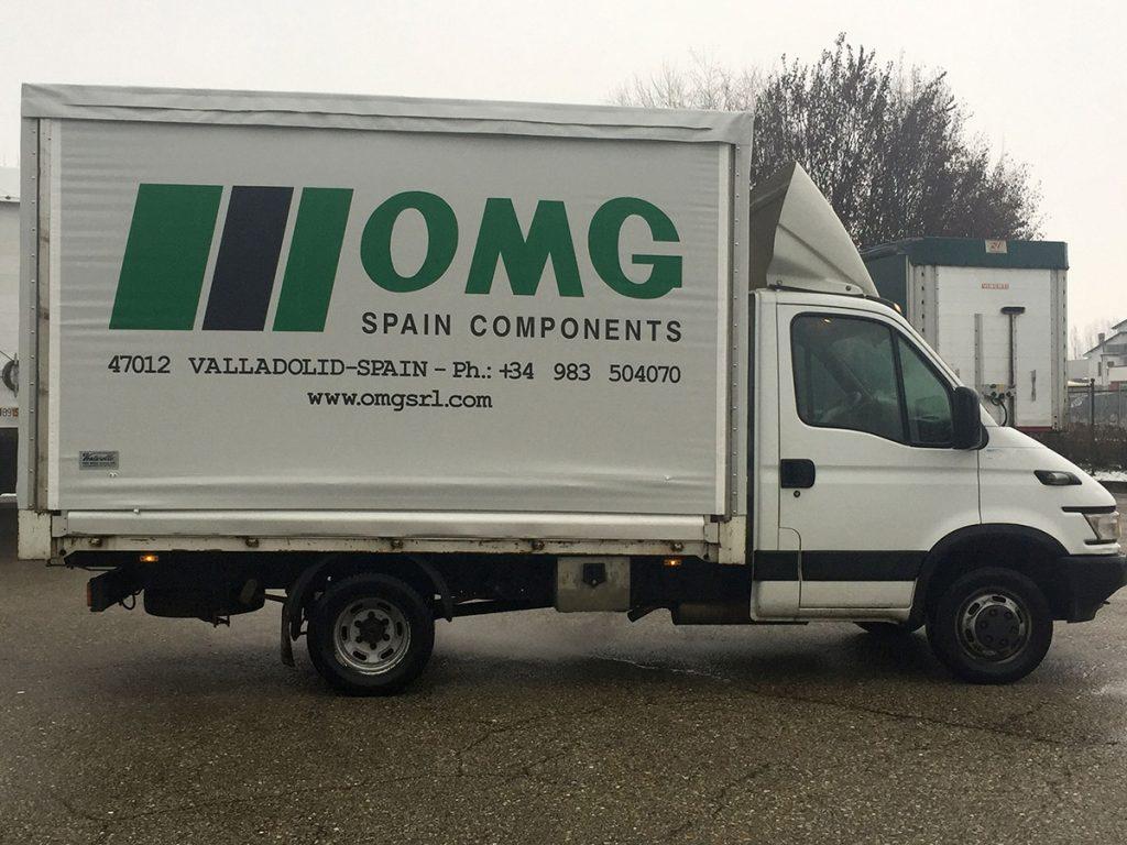 Telone Camion OMG Spain Component Villadolit Spain