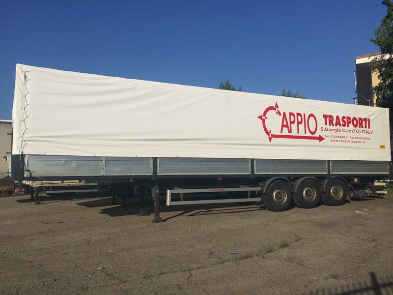 Telone camion Autotrasporti Cappio San Giorgio Canavese (TO)