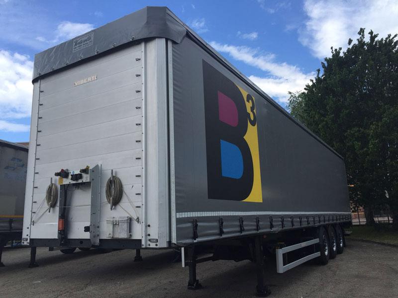 Telone camion B3 Cube Villanova d'Asti (AT)