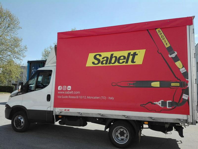 Telone camion Sabelt Moncalieri (TO)