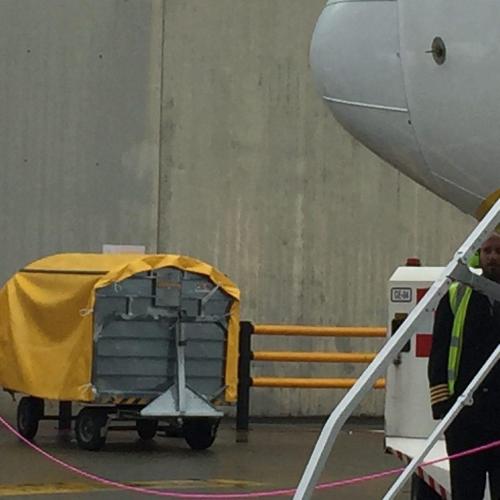 Teloni impermeabili in PVC ignifugo Aeroporto Torino